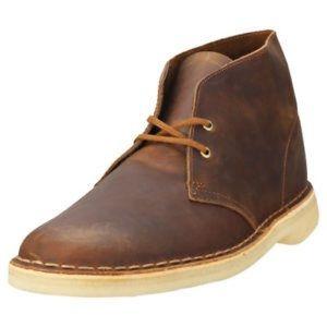 Clarks Originals Beeswax Leather Chukka Boots